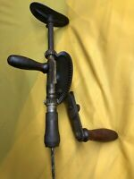 Vintage 13A, Millers Falls,  Hand Crank Drill, With body Brace (for shoulder)