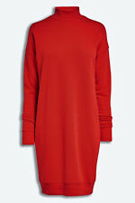 BNWT NEXT NEW cotton slouch Ladies red turtle neck sexy  jumper midi dress