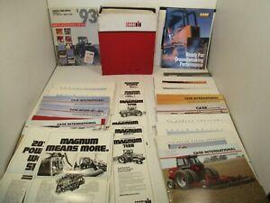 33 - Case IH Dealer Parts Catalog Owners Mower Farm Tractor Brochures Equipment
