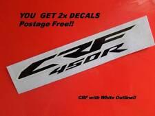 CRF 450  GRAPHICS  DECALS  2012-2014  Model