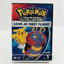 Pokemon Advanced Challenge - Vol. 1: Love at First Flight (DVD, 2005)