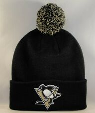 Pittsburgh Penguins NHL Zephyr Cuffed Knit Pom Hat Black