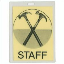 Pink Floyd 1980/81 The Wall Tour Yellow Staff Laminate Backstage Pass