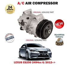 FOR LEXUS ES250 2AR-FE 2494cc 2012-> ORIGINAL AC AIR CONDITION COMPRESSOR