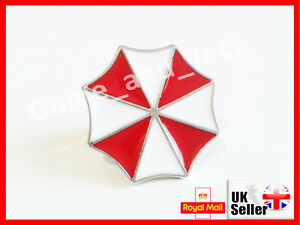 Resident Evil 2 UMBRELLA Pin Badge Brooch - Xbox One X PS4 Switch PS1 Biohazard