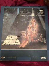 Star Wars, CED movie Disc. 1982