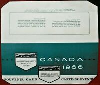 Canada 1966 Annual Souvenir Card Series 8