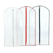 """Hangerworld™ 3 Clear 40"""" Showerproof Suit Covers Garment Clothes Protector Bags"""