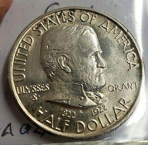 1922 GRANT COMMEMORATIVE HALF DOLLAR BU CONDITION
