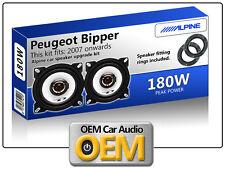 PEUGEOT BIPPER casse portiera anteriore Alpine altoparlante auto kit con Adapter