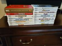 Wii Video Games  - Excellent Condition (Original Owner)