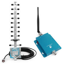 Mobile Phone Signal Repeater 3G 2100MHz Cellular Repeater Amplifier+2 Antennas