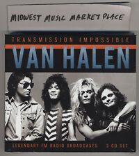 Van Halen - Transmission Impossible - 3CD Radio Broadcasts - New MINT & Sealed!