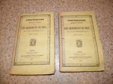 1843.Conférences sur les grandeurs de Dieu.2/2.d'Argentan