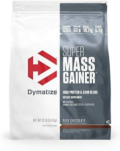 Dymatize Nutrition Super Mass Gainer Chocolate 12 lbs