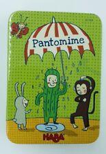 Jeu Haba - Pantomime - Complet - Jeu Educatif à Partir De 4 Ans
