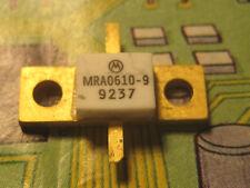 MRA0610-9 NPN Si RF POWER TRANSISTOR 1.5A 50V 1GHZ Max 9W MOTOROLA  1pcs