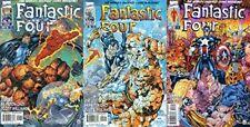Fantastic Four #1-3 (1996-1997) Marvel Comics-3 Comics