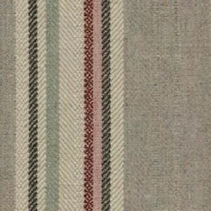 Lewis and Wood - Selsley Stripe - Heather - Fabric - 83cm x 58cm - Face Masks