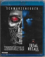 Terminator 2 & Total Recall Blu Ray Arnold Schwarzenegger Linda Hamilton NEW