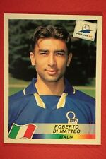 PANINI WC WM FRANCE 98 1998 N. 96 ITALIA DI MATTEO WITH BLACK BACK MINT!!