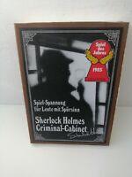 Sherlock Holmes Criminal Cabinet Spiel des Jahres 1985 Brett Gesellschafts Rar