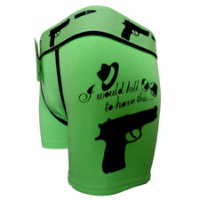 Funny Gangsta Gun Killer Macho Men Boxer Shorts Pants Joke Prank Birthday Gift