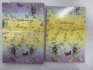 Floral Letter Paper Stationary Set + Stationary Writing Pad