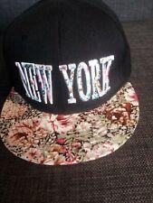 ladies new york baseball cap snap back