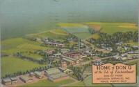 Postcard Home of Don Q Isle Enchantment Ponce Puerto Rico
