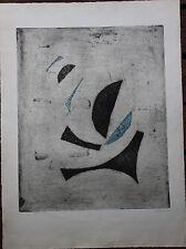 Arthur Luis PIZA - Gravure burin signée épr. d'artiste gravura etching 1959 *