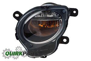 12-17 FIAT 500 BLACK FRONT LEFT DIRECTIONAL TURN SIGNAL PARK LIGHT LAMP OEM FIAT