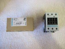 NIB Siemens SIRIUS Contactor  110/120V   50/60Hz    3RT1034-1AK60