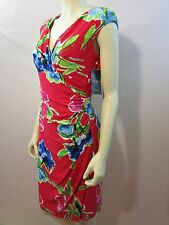 RALPH LAUREN FLORAL PRINT SHEATH DRESS  NEW WITH TAG