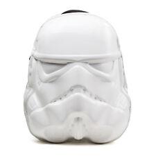 Licensed Star Wars Stormtrooper Shaped Molded Backpack Schoolbag Travelbag