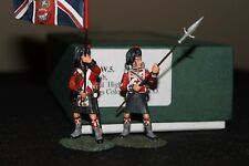 Frontline Figures Napoleonic 42nd Black Watch Ensign With KIngs Colour and NCO
