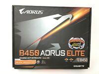 GIGABYTE B450 AORUS ELITE AM4 HDMI ATX AMD Ryzen 3000 BIOS Ready Motherboard