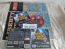 Grand Theft Auto PS1 (COMPLETE WITH MAPS) rare GTA Sony Playstation black label