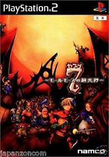 Used PS2  Namco 7 the cavalry of molmorth  SONY PLAYSTATION JAPAN IMPORT