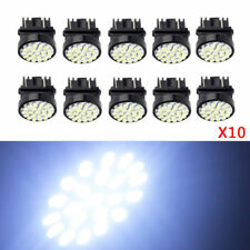 10Pcs 3157 22-SMD Car LED Bulbs Brake Tail Stop Light 3057 3457 4157 3047 White