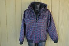 Fox Racing Hooded Plaid Polyester Jacket Youth Size Xl