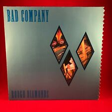 Bad Company Rough Diamonds 1982 Deutsche Vinyl LP + Innere Exzellenter Zustand #