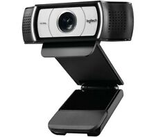 Logitech C930e Webcam, 1080P, Wide Field of View, Digital Zoom, Skype Certified