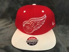Detroit Red Wings NHL Retro Vintage Snapback Hat BY ZEPHYR New