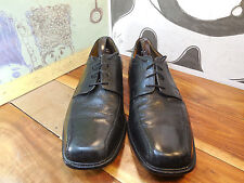 Bostonian Black Leather Oxfords Men's 13M #24345 Made in India