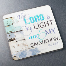"""The Lord Is My Light and My Salvation PS. 37:1"" Magnet"