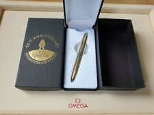 New Omega Speedmaster 50th Anniversary Fisher Space Pen - Boxed - Collectable