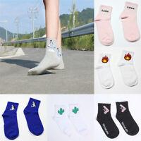 Women Girl Creative Short Socks Cotton Casual Ankle Socks Funny Socks Hosiery