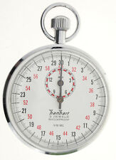 HANHART industria-cronometro/STOPWATCH - 1/10 sec & 15 min - 1960er anni
