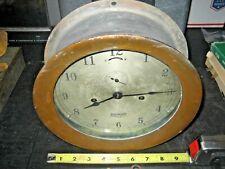Seth Thomas Ships Clock Foxboro Rare Large Dial